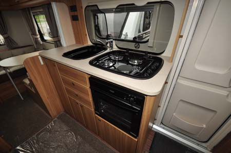Elddis Sanremo 526 Kitchen