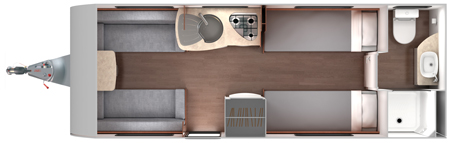 Lunar Venus 550 Floor Plan