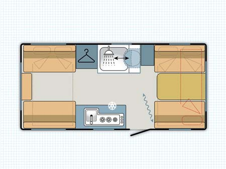 Adria Altea Eden 472DS Floor plan