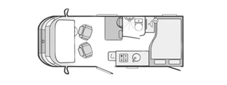 Swift Rio 325 Floorplan