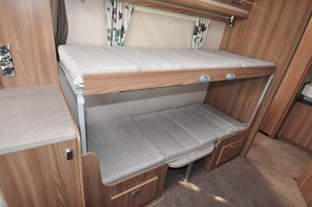 Swift Challenger 530 Bunk Beds