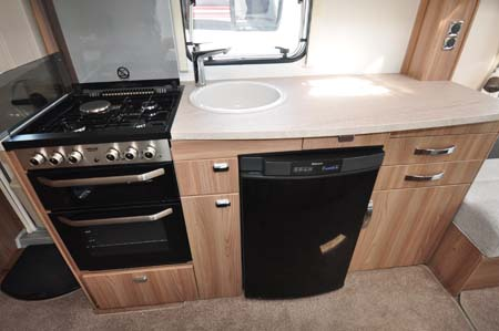 Swift Challenger 530 Kitchen