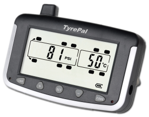 Tyrepal monitor for tyre safety