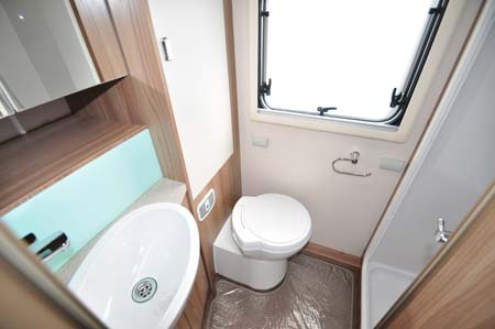 Swift Rio 310 Washroom