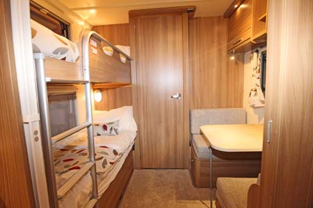 Bailey Pegasus Ancona Bunk and dining