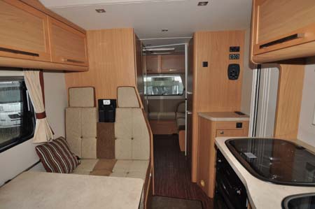Elddis Autoquest 180 interior