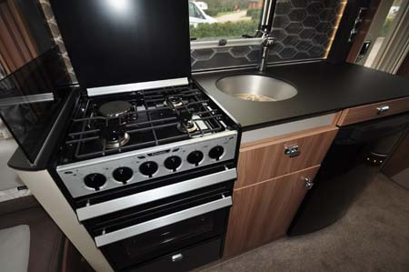 Swift Bolero 744 Kitchen 2