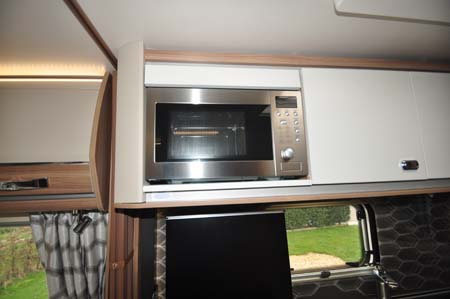 Swift Bolero 744 Microwave