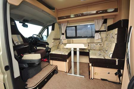 Auto-Sleeper Stanway Seating