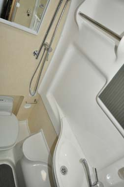 Auto-Sleeper Stanway Washroom