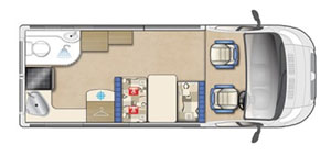 Auto-Sleeper Stanway Floor Plan