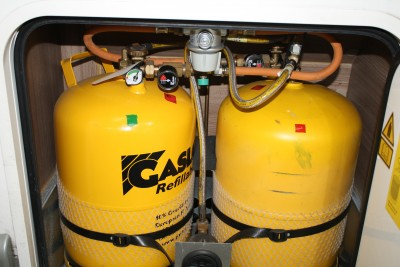 motorhome gas bottles