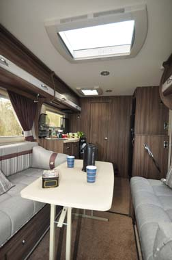 Auto-Sleeper Corinium Lounge Dining