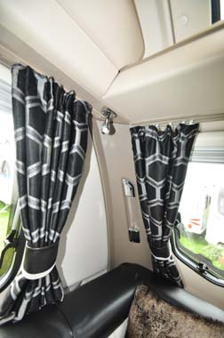 Sterling Continental 530 Curtains