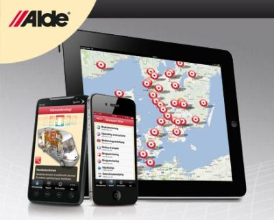 Alde heating app image