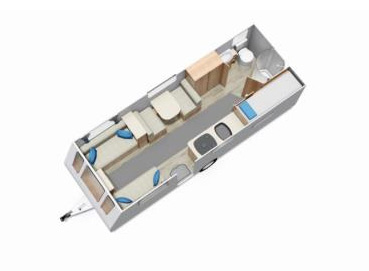 Elddis Xplore Floor Plan