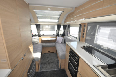 Adria Adora 432 DT Loire Interior looking forwrd