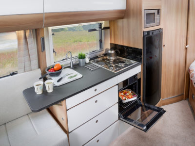 Bailey Autograph motorhomes 75-2 kitchen