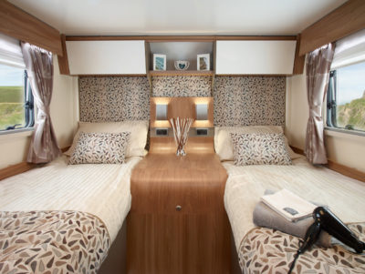 Bailey Autograph motorhomes 79-4 T twin fixed beds