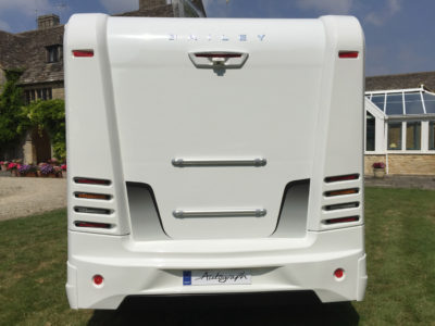 Bailey Autograph motorhomes rear LED inset lights