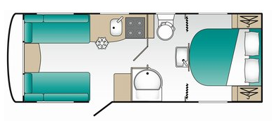 Coachman Pastiche 545 Floor Plan