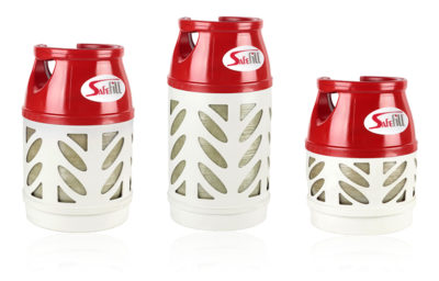 Safefill gas canisters