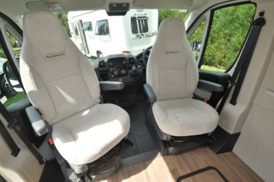Autocruise Select 184 Seating