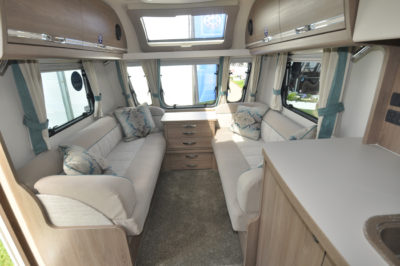 Compass Camino 660 interior looking forward