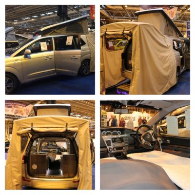 Ssang Yong Turismo camper
