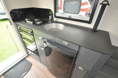 Swift Basecamp kitchen