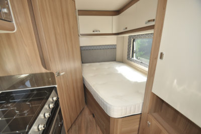 Swift Escape 664 Motorhome Bed
