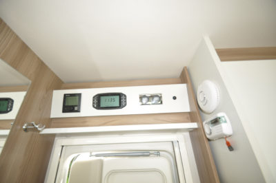 Swift Escape 664 Motorhome Interior heating controls