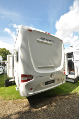 Swift Escape 664 Motorhome Rear