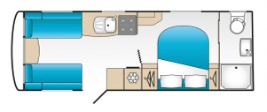 Coachman Laser 675 Floor Plan