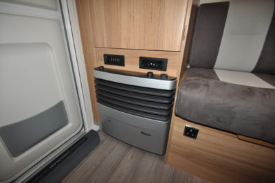 Caravelair Antares 420 heating