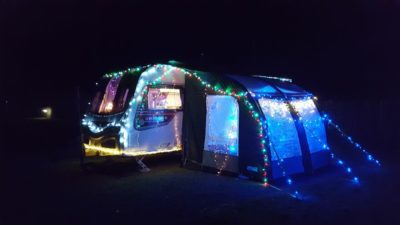 Christmas caravan lights