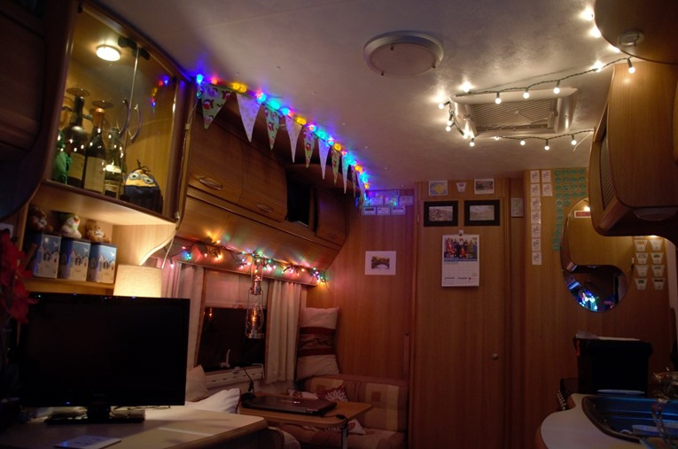 Light Up Motorhome And Caravan Lights Are Beaming