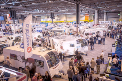Motorhome Show 2017 at NEC