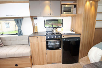 2017 Bailey Pursuit Kitchen