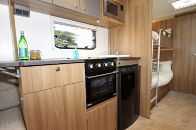 2017 Bailey Pursuit kitchen 2