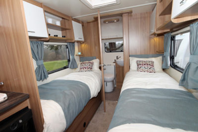 2017 Bailey Pursuit twin beds