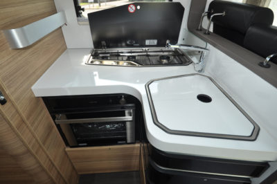 Adria Sonic Supreme 710SBC kitchen