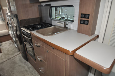Buccaneer Galera kitchen