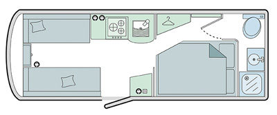 Bailey Pursuit 530-4 Floor Plan