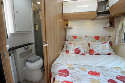 2017 Bailey Autograph 75-4 Bed and Washroom