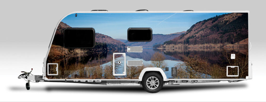 Would you wrap your caravan or motorhome with a designer