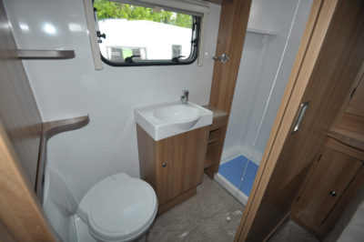 Bailey Pegasus Brindisi Shower room