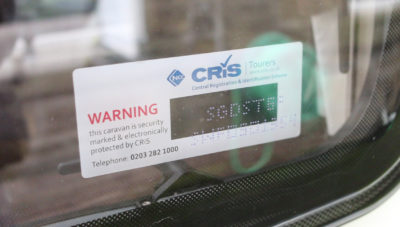 CRiS number window label