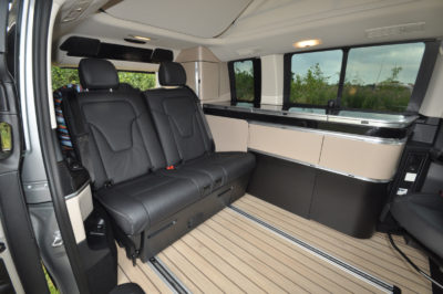 Mercedes Marco Polo Interior with Kitchen