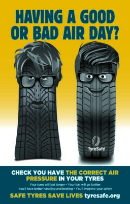 TyreSafe Tyre Safety month air poster